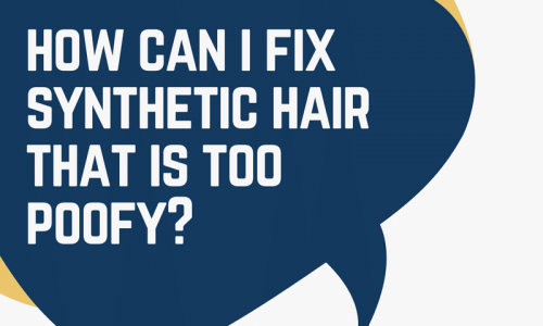 Depoof synthetic hair